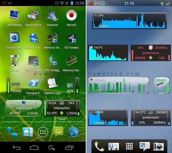 نرم افزار افزایش سرعت موبایل (برای اندروید) - System Tuner Pro 3.19 Android