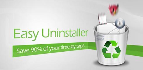 نرم افزار حذف کامل برنامه ها (برای اندروید) - Easy Uninstaller Pro 3.2.1 Android