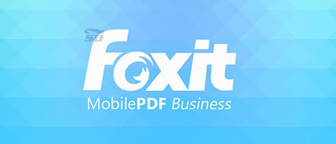 نرم افزار PDF (برای اندروید) - Foxit MobilePDF 3.3 Android