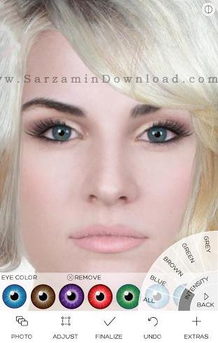 نرم افزار آرایش صورت (برای اندروید) - Makeup Premium 3.4 Android