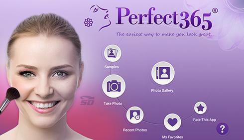 نرم افزار آرایش صورت (برای اندروید) - Perfect365 v.5.25.4 Android