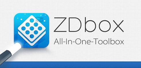نرم افزار افزایش سرعت موبایل (برای اندروید) - ZDbox 3.5 Android