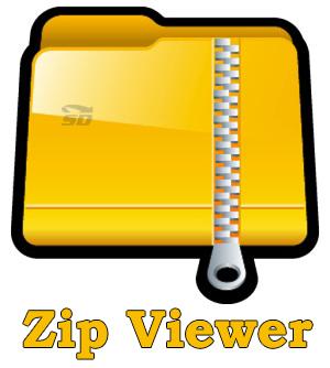 نرم افزار زیپ (برای اندروید) - Zip Viewer 2.12 Android