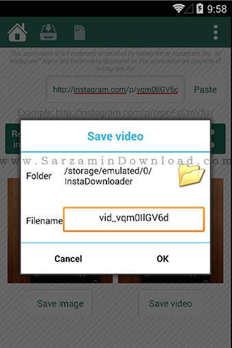 نرم افزار دانلود فیلم از اینستاگرام (برای اندروید) - iGetter for Instagram Pro 1.5.3 Android