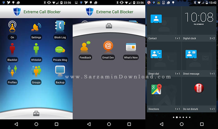 نرم افزار بلک لیست (برای اندروید) - Extreme Call Blocker 30.8.10 Android