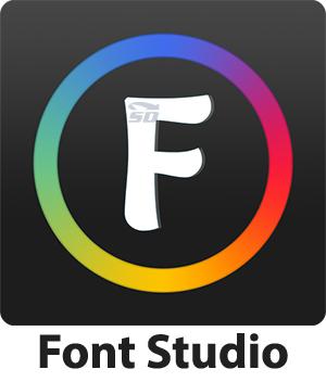 نرم افزار نوشتن متن فارسی روی عکس (برای اندروید) - Font Studio 3.1.2 Android