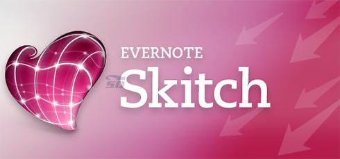 نرم افزار نوشتن متن فارسی روی عکس (برای اندروید) - Skitch 2.8.4 Android
