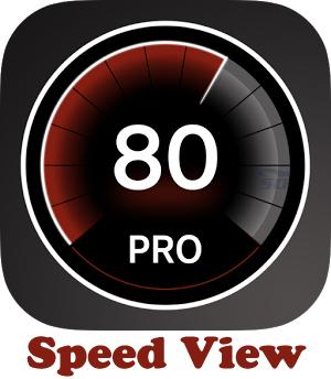 نرم افزار نمایش سرعت سنج (برای اندروید) - Speed View Pro 2.8 Android