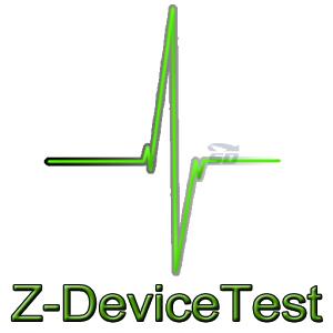نرم افزار تست سخت افزار گوشی (برای اندروید) - Z Device Test 1.12 Android