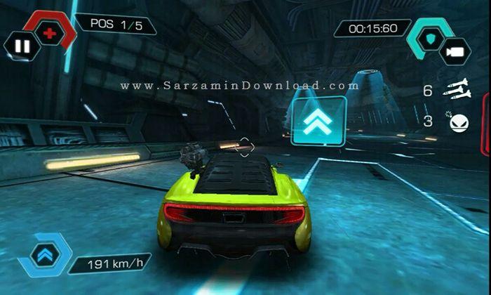 بازی ماشین جنگی (برای اندروید) - Cyberline Racing 1.0.10517 Android