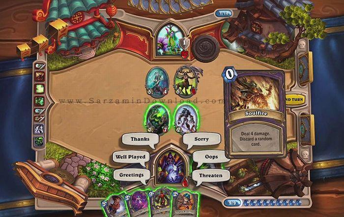 بازی وارکرفت (برای اندروید) - Hearthstone Heroes of Warcraft 5.2 Android