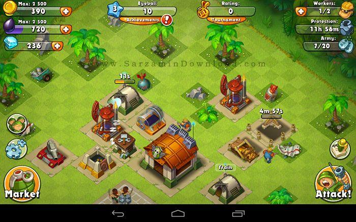بازی هیجان جنگل (برای اندروید) - Jungle Heat 1.10.5 Android