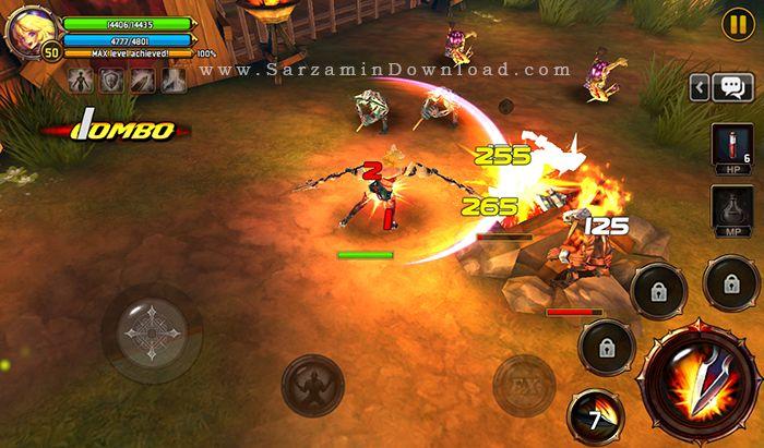 بازی کریتیکا (برای اندروید) - Kritika 2.27.3 Android