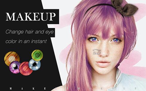 نرم افزار روتوش (برای اندروید) - MakeupPlus 1.1.0 Android