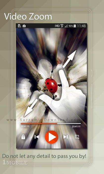 نرم افزار حذف قسمتی از فیلم (برای اندروید) - Media Player Plus Pro 2.7.7 Android