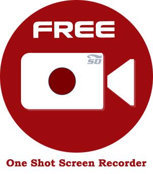 نرم افزار فیلمبرداری از صفحه نمایش (برای اندروید) - One Shot Screen Recorder 1.2.10 Android