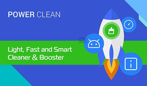 نرم افزار افزایش سرعت گوشی (برای اندروید) - Power Clean 2.8.7 Android