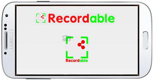 نرم افزار فیلمبرداری از صفحه نمایش (برای اندروید) - Recordable Free 4.1.1.5 Android