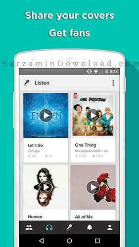 نرم افزار آموزش خوانندگی (برای اندروید) - Sing Karaoke 3.8.5 Android