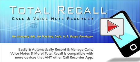 دانلود نرم افزار ضبط مکالمات (برای اندروید) Total Recall 2.0.46 Android