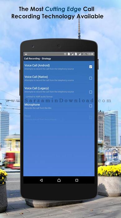 نرم افزار ضبط مکالمات (برای اندروید) - Total Recall 2.0.46 Android