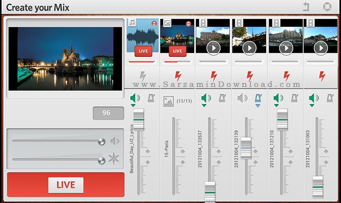 نرم افزار میکس عکس (برای اندروید) - TrakAx MovieExpress 1.84 Android