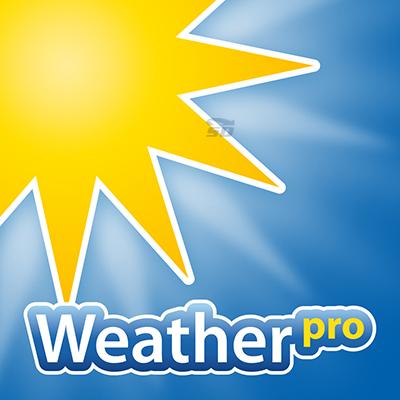 نرم افزار نمایش آب و هوا (برای آیفون) - WeatherPro 3.5.2 iOS