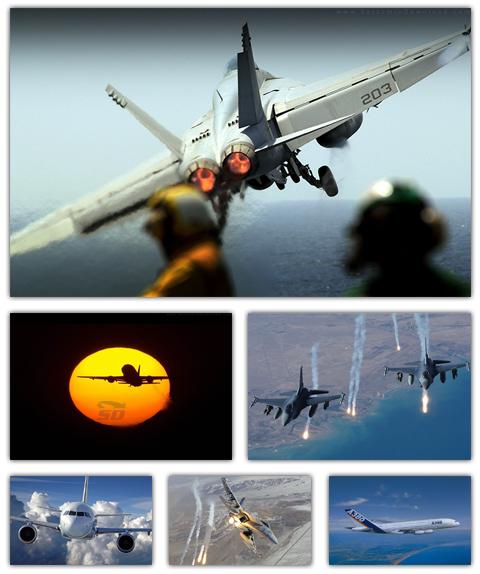 مجموعه تصاویر والپیپر با موضوع هواپیما - AirPlane Wallpaper