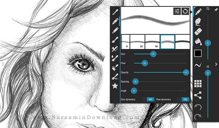آموزش نقاشی با موبایل اندروید
