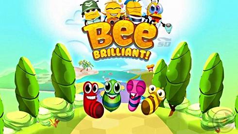 بازی زنبور باهوش (برای اندروید) - Bee Brilliant 1.28.4 Android