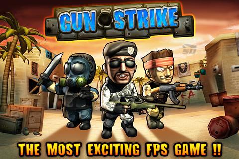 بازی تفنگی (برای اندروید) - Gun Strike 2 v.1.2.4 Android
