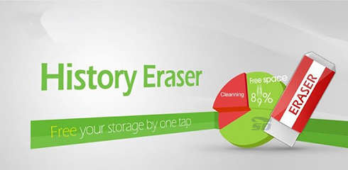 نرم افزار حذف کامل هیستوری ها (برای اندروید) - History Eraser 6.1 Android