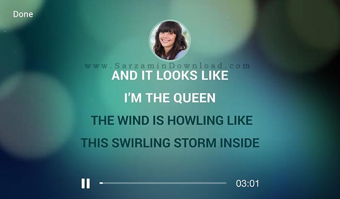 نرم افزار خوانندگی (برای اندروید) - Karaoke Sing and Record 2.0.293 Android