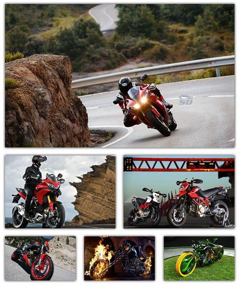 مجموعه تصاویر والپیپر با موضوع موتور سیکلت - MotorCycle Wallpaper