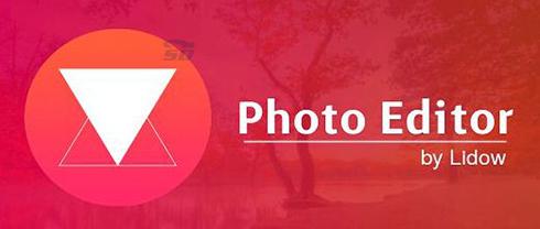 نرم افزار ویرایش عکس (برای اندروید) - Photo Editor by Lidow 4.33 Android