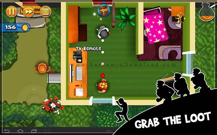 بازی سرقت از خانه ها (برای اندروید) - Robbery Bob 1.12 Android