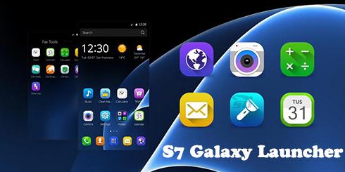 باز لانچر سامسونگ اس 7 (برای اندروید) - S7 Galaxy Launcher Pro 1.0.2 Android