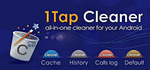 نرم افزار خالی کردن کش (برای اندروید) - 1Tap Cleaner Pro 2.81 Android