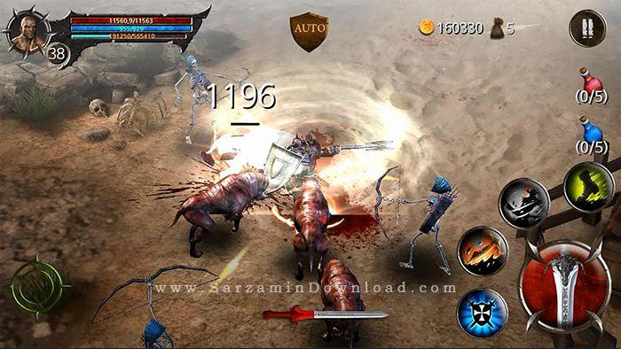 بازی جنگ خونین (برای اندروید) - BloodWarrior 1.1.9 Android