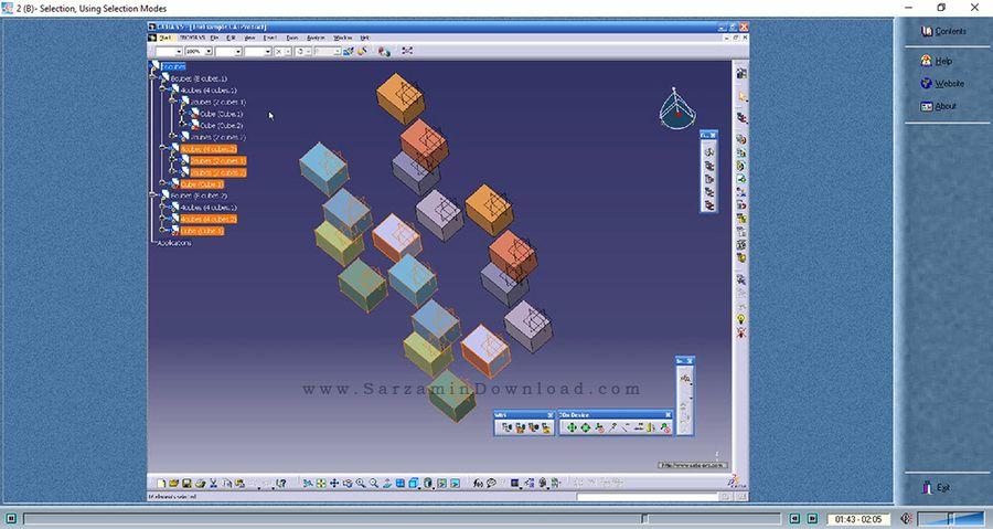 آموزش نرم افزار کتیا - CATIA Learning