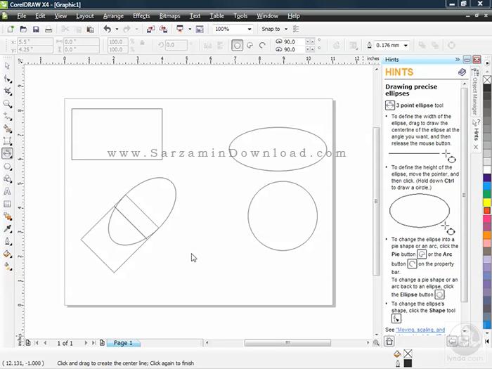 آموزش نرم افزار کورل دراو - CorelDRAW X4 Essential Training