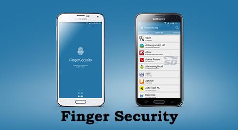 نرم افزار قفل (برای اندروید) - Finger Security Pro 3.8.3 Android