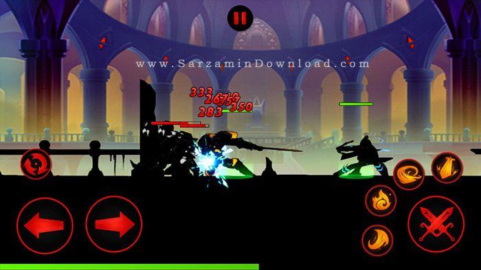 بازی مبارزات استیکمن (برای اندروید) - League of Stickman 2.2.1 Android