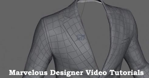 مجموعه آموزشی طراحی لباس - Marvelous Designer Video Tutorials