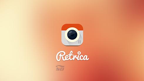 نرم افزار رتریکا (برای آیفون) - Retrica Pro 2.11.1 iOS