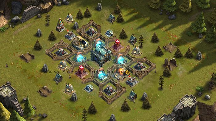 بازی جنگی آنلاین (برای اندروید) - Rival Kingdoms Age of Ruin 1.38.0.3418 Android