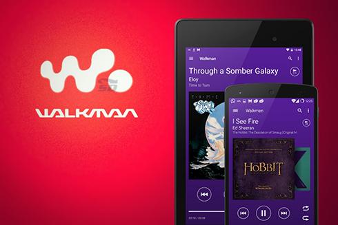 نرم افزار موزیک پلیر واکمن (برای اندروید) - XPERIA Walkman 9.1.12 Android