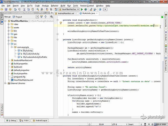 آموزش جامع برنامه نویسی اندروید - Android Programming Tutorial