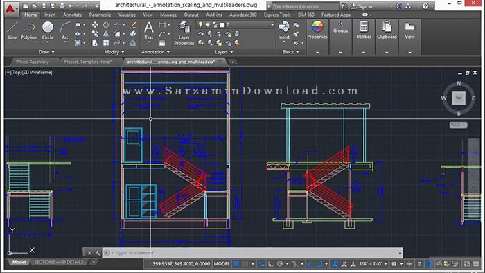 آموزش کامل اتوکد 2016 - Learning Autodesk AutoCAD 2016