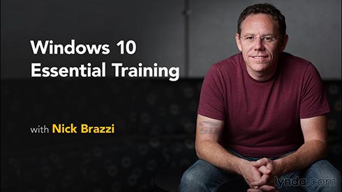 آموزش کامل ویندوز 10 - Windows 10 Essential Training